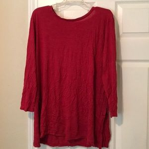 Old Navy XXL Red Tunic